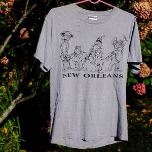 Vintage New Orleans Jazz Cats Tee
